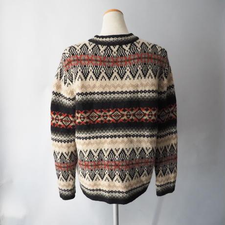 Tyrol design knit cardigan/for ladies'