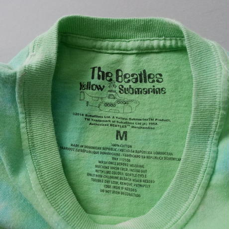 THE BEATLESS yellow submarine official t-shirt