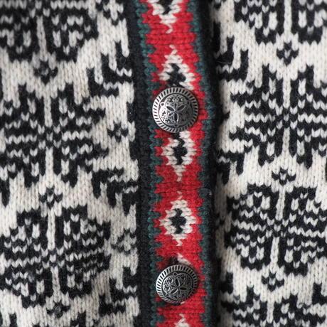 old LL Bean Tyrol knit cardigan