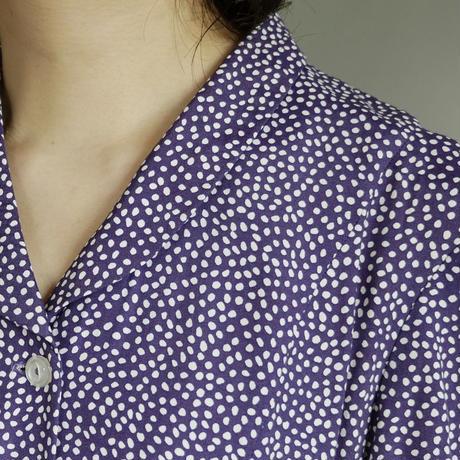 karin stevens dot pattern dress