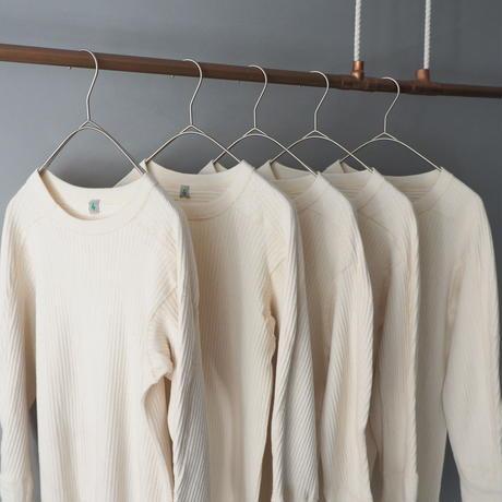 "ladies'  ""dead stock Swedish rib thermal cut and sew"