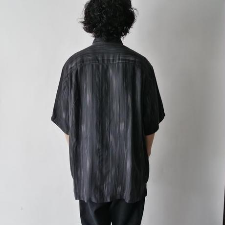 aloha×Cuban design shirt/unisex