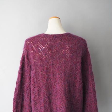 old L.L. Bean wool+mohair  knit