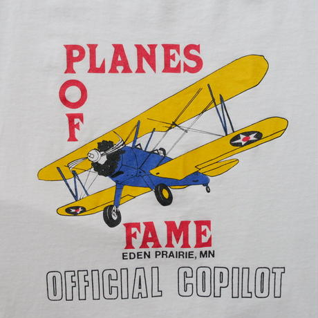 80s〜 planes of fame t-shirt/unisex