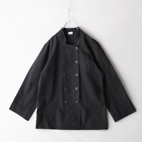 dye to black cook shirt jacket/unisex
