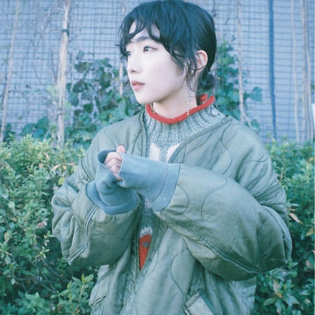 USA liner jacket×70s French military sweat/unisex