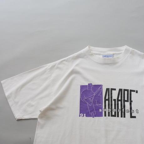 90s print t- shirt/unisex