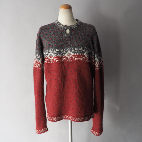 woolrich  nordic pullover knit sweater/ladies'