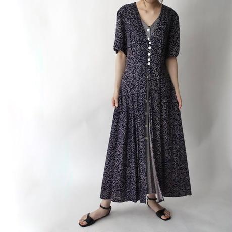 100%rayon layered design dress