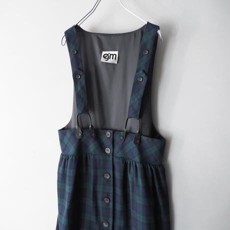 strap suspender jumper skirt