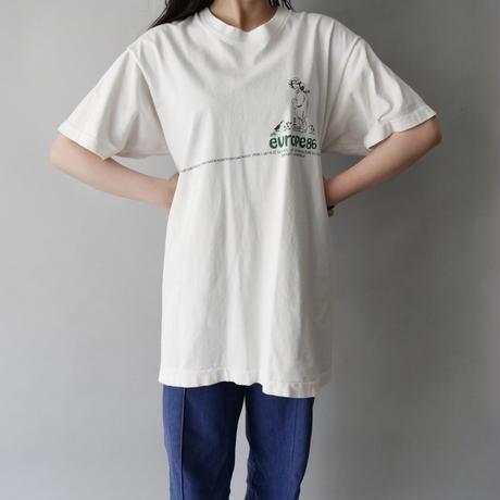 80s print  T-shirt/unisex