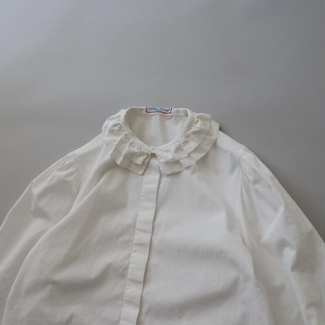 made in Paris white  cotton blouse