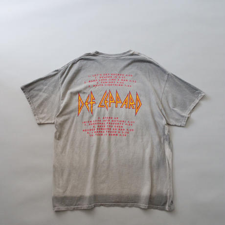 Def Leppard front&back print  T-shirt/unisex
