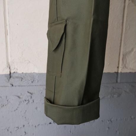90s dead stock Netherlands military pants/unisex