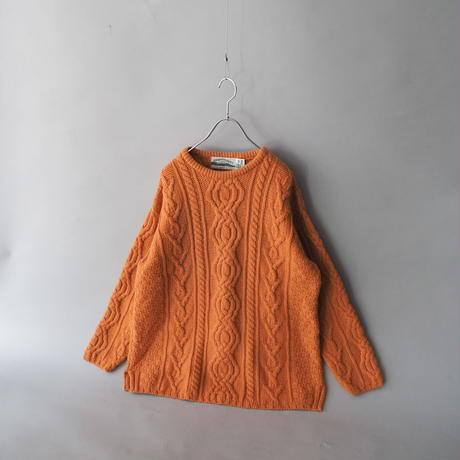 Ireland fisherman's knit sweater