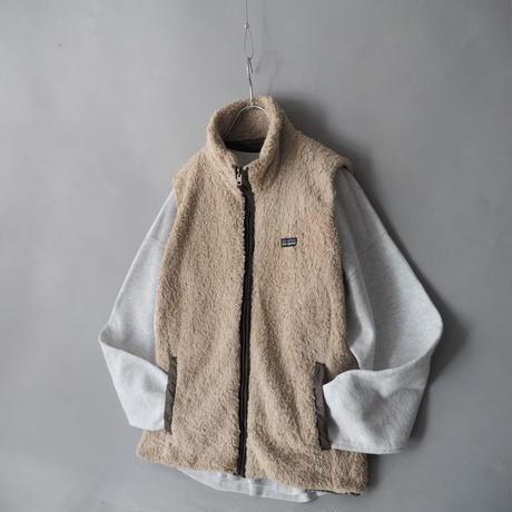 Patagonia reversible fleece⇄nylon vest/unisex