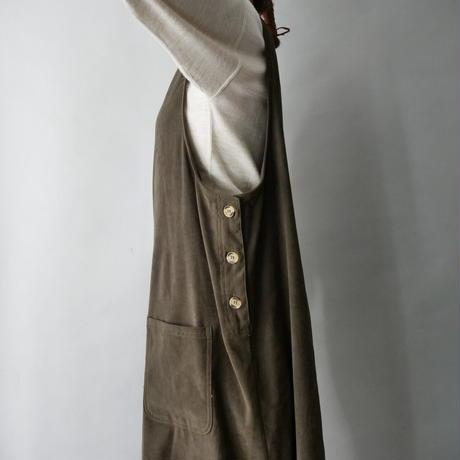 smooth fabric jumper skirt