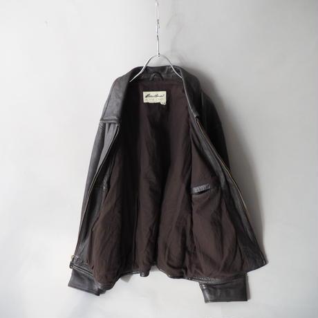 90s Eddie Bauer leather jacket/unisex