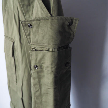 """70s """"dead stock Netherlands military pants/for ladies'"""