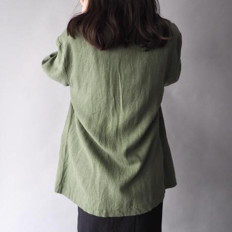 linen&rayon summer jacket/unisex