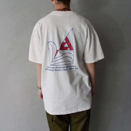 90s sailboat t-shirt/unisex