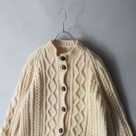 fisherman's hand knit cardigan