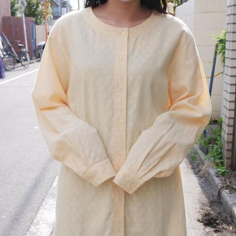 70s-80s L.L.Bean no collar soft cotton shirt/unisex