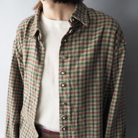 gingham check Tyrol shirt