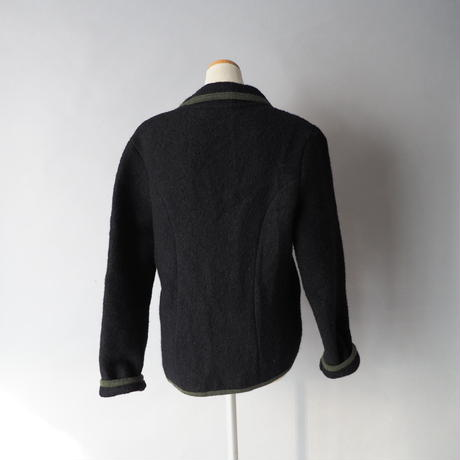 ladies Tyrolean boiled wool jacket