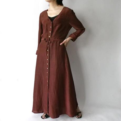 made in USA silk+hemp good quality fabric dress