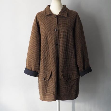 100% cotton quilting half coat/unisex