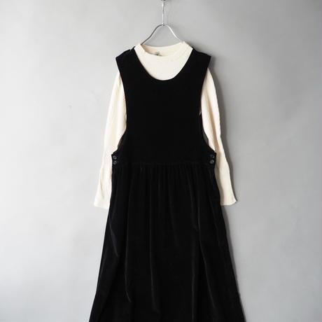 velours jumper skirt