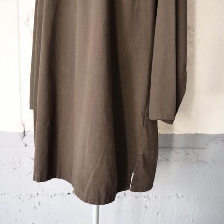 cotton long shirt/unisex
