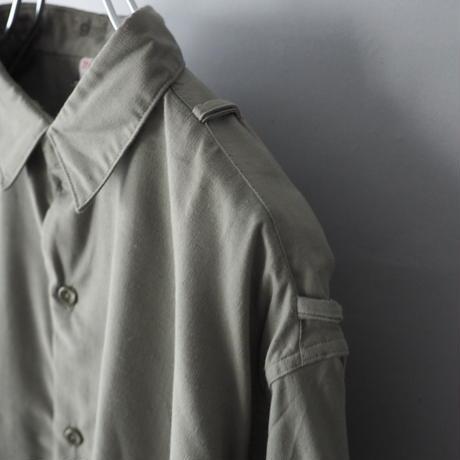 """dead stock""  Swedish pullover officer  shirt/unisex"