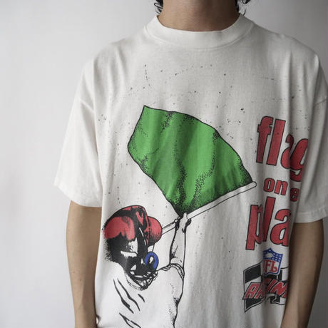 90's made in USA flag on the play T-shirt/unisex