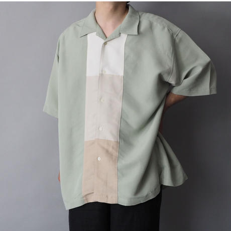 mint green loose thickness  shirt/unisex