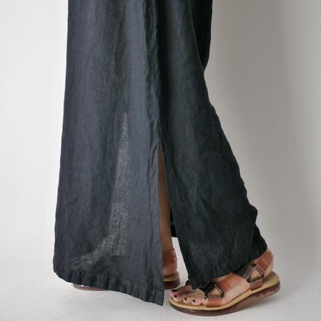 linen sleeveless dress