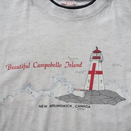 New Brun swick lighthouse print T-shirt/unisex