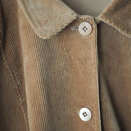 like a half right coat corduroy jacket/unisex