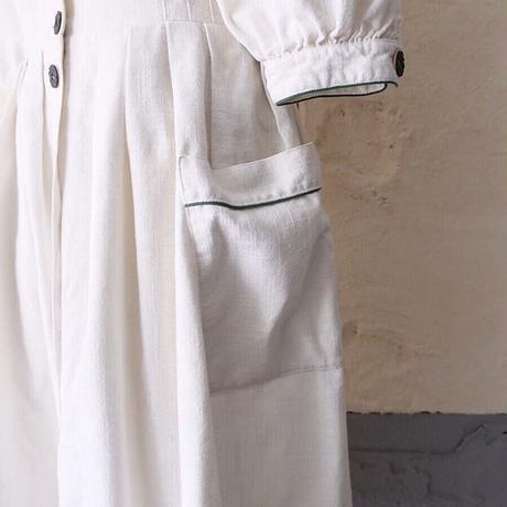 vintage volume sleeve Tyrolean dress