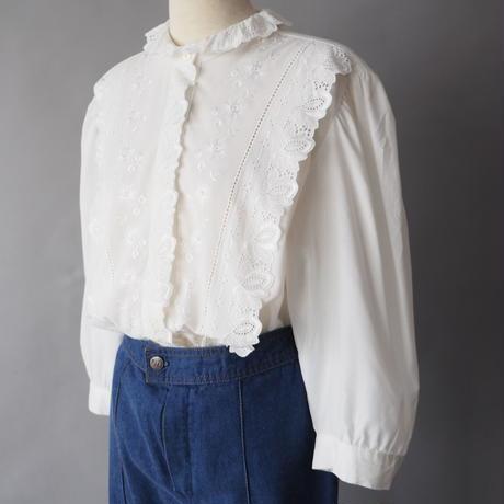 Euro old cotton blouse