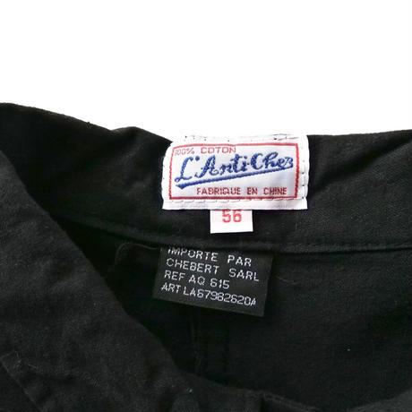 """dead stock"" 80s French china black jacket/unisex"