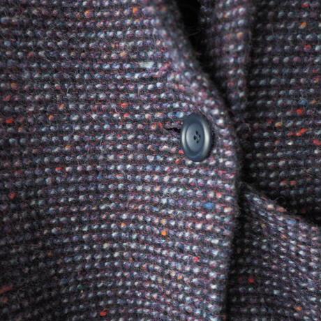 colorful nep wool half coat/unisex
