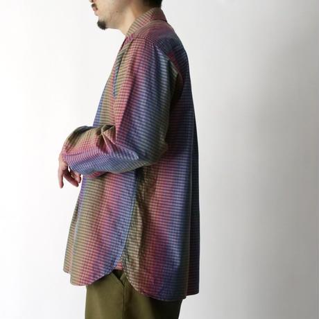 80s Perry Ellis gradation check shirt/unisex