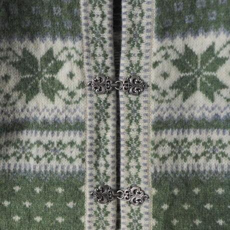 Tyrol nordic design knit cardigan/for ladies'