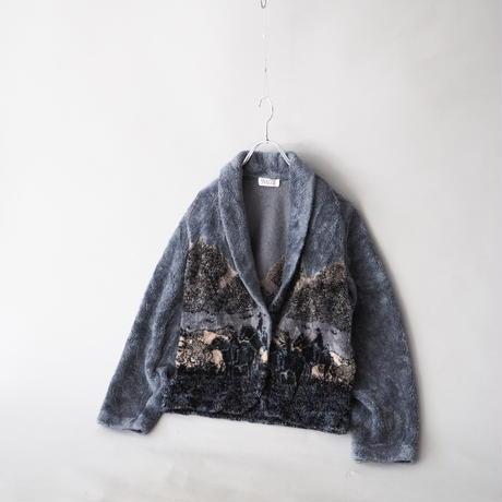 design fleece short jacket/for ladies'