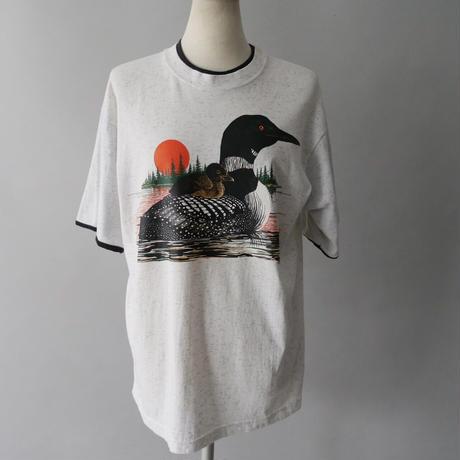 duck parent and child T-shirt/unisex
