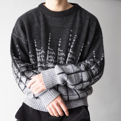 old London Fog knit sweater/unisex