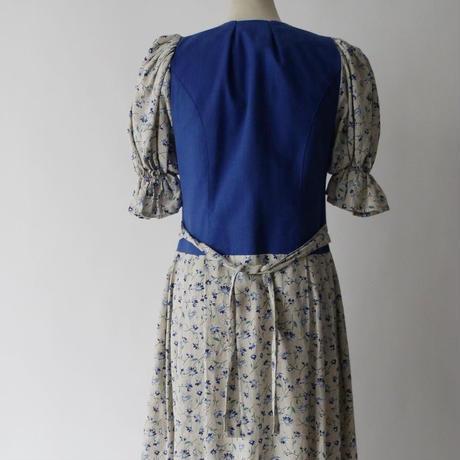 vintage Tyrolean dress