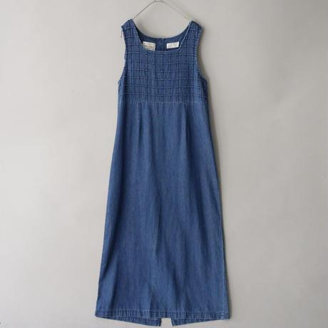 karin stevens soft denim sleeveless dress